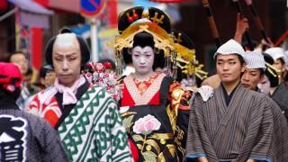 大須大道町人祭おいらん道中