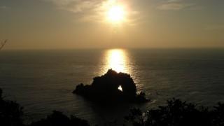 日の出の石門初日の出